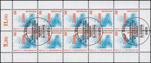 2009 SWK 110 Pf EXPO Hannover - 10er-Bogen ESSt Berlin Zentrum 10.9.98