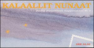 Grönland Markenheftchen 329-330 Weihnachten 1998, ** postfrisch