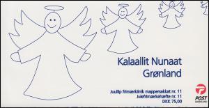 Grönland Markenheftchen 477-478 Weihnachten 2006, selbstklebend, ** postfrisch