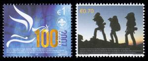 2007 Kosovo 68-69 Pfadfinder, Satz postfrisch **
