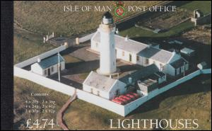 Isle of Man Markenheftchen 35, Leuchttürme LIGHTHOUSES 1986, ** postfrisch