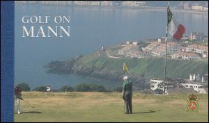 Isle of Man Markenheftchen 40, Golfplätze auf Man 1997, ** postfrisch