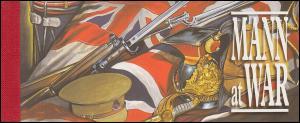 Isle of Man Markenheftchen 0-12, Kriegsereignisse MANN at WAR, ** postfrisch