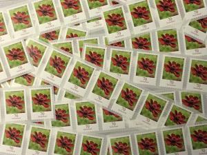 100 Briefmarken zu 70 Cent, selbstklebend, Frankaturwert 70 Euro in Deutschland
