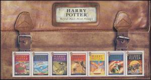 Großbritannien 2535-2541 Harry Potter 2007, Presentation-Pack mit Block 38, **