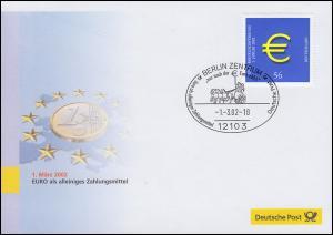 Euro-Einführung: SSt Berlin 1.3.02: Euro als alleiniges Zahlungsmittel
