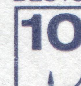 HBl. 27I aus MH 22I BuS Bdr. 1980 mit VORSTUFE des MICHEL-PLF XLVI, **