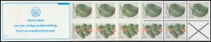 Surinam Markenheftchen 7 Obst Fruit 15 und 25 Ct., PB 5a Werk ... 1979