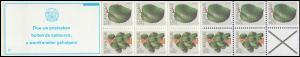Surinam Markenheftchen 7 Obst Fruit 15 und 25 Ct., PB 5c Doe uw ... 1979