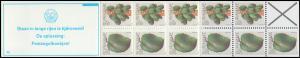 Surinam Markenheftchen 8 Obst Fruit 25 und 15 Ct., PB 5b Staan ... 1979