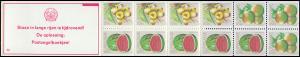 Surinam Markenheftchen 9 Obst Fruit 5,10,35 Ct., PB 6b Staan ... 1980
