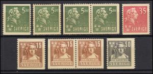 277-280 Schweden-Jahrgang 1940 komplett, postfrisch **