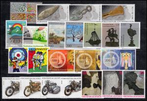 1790-1838 Liechtenstein Jahrgang 2016 komplett, postfrisch