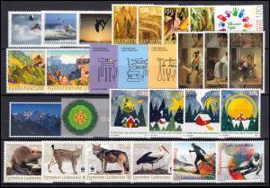 1839-1885 Liechtenstein Jahrgang 2017 komplett, postfrisch **