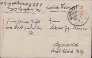 DEUTSCHE MARINE-SCHIFFSPOST No 139 - SMS Prinzregend Luipold passende AK um 1916