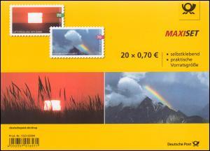FB 85 Himmelsereignisse, Folienblatt mit 10x 3445 und 3446, postfrisch **