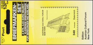 Österreich MH 0-21 Kunsthäuser Cultural Forum New York, postfrisch **