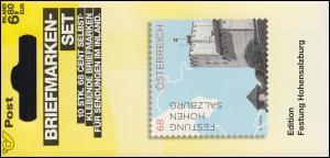 Österreich MH 0-30 Impressionen Festung Hohensalzburg, postfrisch **
