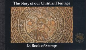 Großbritannien-MH 70 The Story of our Christian Heritage - Golddruck AUSIPEX **