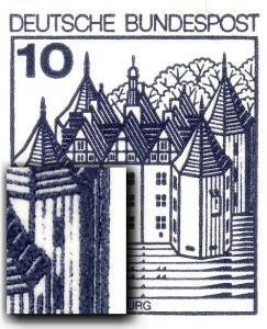 24h MH BuS 1982 - PLF XIV unterbrochene Turmlinie, mit Zählbalken, **