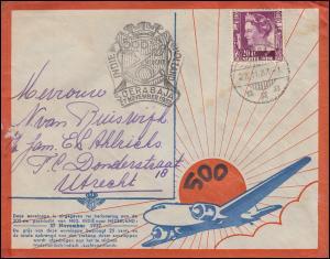 500. KLM-Flug NL-Indien - NL SOERABAJA 27.11.1937 nach Amsterdam 2.12.37