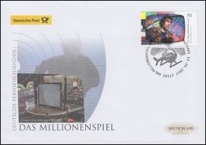 3335 Deutsche Fernselegenden Das Millionenspiel Schmuck-FDC Deutschland exklusiv