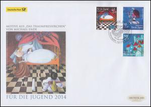 3096-3098 Das Traumfresserchen, Satz auf Schmuck-FDC Deutschland exklusiv