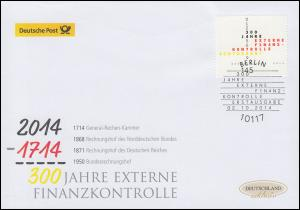 3106 Externe Finanzkotrolle, Schmuck-FDC Deutschland exklusiv