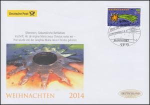 3112 Stern von Bethlehem, selbstklebend, Schmuck-FDC Deutschland exklusiv
