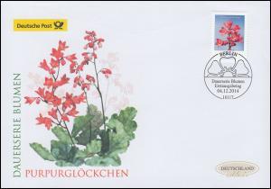 3117 Blume Purpurglöckchen, Schmuck-FDC Deutschland exklusiv