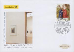 3119 Museumsschätze Gemälde Heimsuchung, Schmuck-FDC Deutschland exklusiv