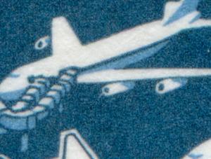 29b MH BuS 1995 - beginnender PLF XIII: Blitz vor dem Triebwerk, mit ZB **