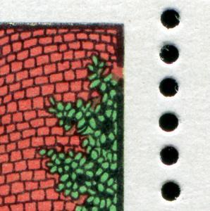 2382-2387 Rapunzel-KB mit PLF 2384 gebrochener Rahmen rechts oben, Feld 3, **