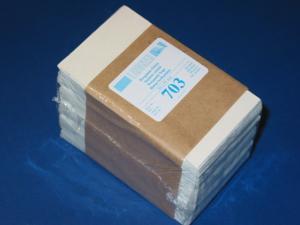 LINDNER 500 Pergamin-Tüten Nr. 703 - 63x93 mm + 14 mm Klappe