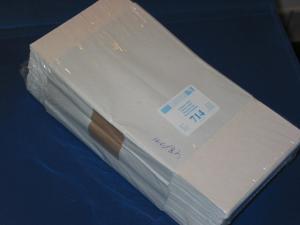 LINDNER 500 Pergamin-Tüten Nr. 714 - 125x230 mm + 20 mm Klappe