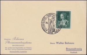 700 Deutsche Kunst 1939 auf Karte passender SSt MÜNCHEN Tag der Kunst 16.7.39