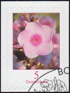 3459 Blume Phlox, selbstklebend auf neutraler Folie, EV-O Bonn 4.4.19