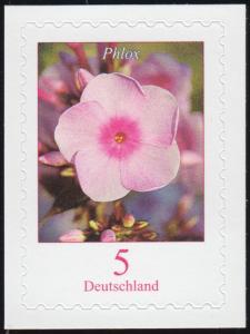 3459 Blume Phlox, selbstklebend auf neutraler Folie, **