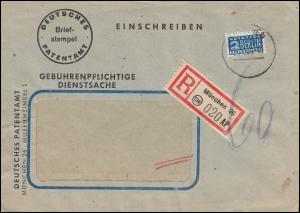 Gebührenpflichtige Dienstsache Deutsches Patentamt MÜNCHEN 25.10.1949
