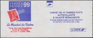Markenheftchen 3228Bc Type I Marianne Luquet 1997, selbstklebend, **