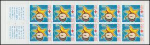 Markenheftchen 53 Rotes Kreuz - Weihnachten und Neujahr 1999, **