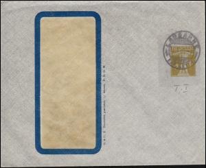 Schweiz Privatumschlag Fensterbrief Tellknabe 2 C. helloliv LUSANNE 31.5.09