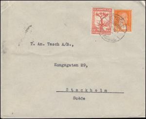 940 Balkankonferenz mit 946 Atatürk Brief Schwedisches Konsulat BEYOGLU 25.2.33
