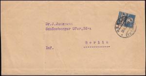 Völkerbund (SDN) 19x Tell mit Armbrust EF Streifband GENF 26.9.1926 nach Berlin