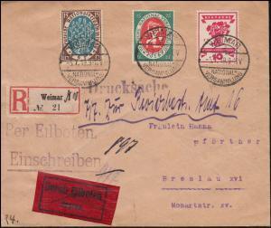 107+108+109 Nationalversammlung Drucksache WEIMAR-NATIONALVERSAMMLUNG 5.7.1919