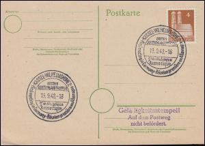 Erstes Deutschlandtreffen Club d´Echanges Armorique KASSEL-WILHELMSHÖHE 19.9.48