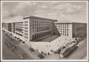Ansichtskarte Berlin Reichsluftfahrtministerium, BERLIN Frauenwerk 5.9.1940