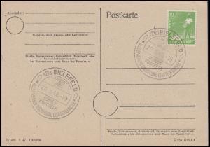 Allgemeiner Radio-Bund Deutschlands e.V. SSt BIELEFELD Bundeskongress 20.3.1948