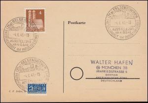 Gewerkschaftstag der Post 1949 SSt STUTTGART-BAD CRANNSTATT DPG 30.6.49 auf PK