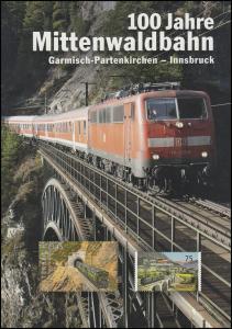 2951 Mittenwaldbahn von Garmisch-Partenkirchen nach Innsbruck - EB 5/2012